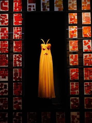 News_Donae Cangelosi Chramosta_Yves Saint Laurent_Denver Art Museum_March 2012_The collisions of colors