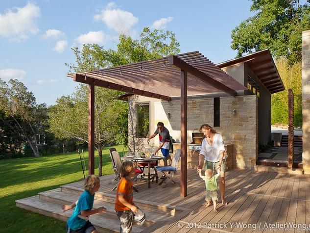 houzz austin home tour healthy house backyard. Interior Design Ideas. Home Design Ideas