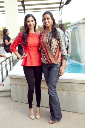 Priya Rathod and Grishma Shah at What to Wear in Mockingbird Station