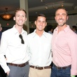 Ray Dennison, from left, Gray Thornton and Ted Bowden IV at the ZooZa Event at Hotel ZaZa August 2014