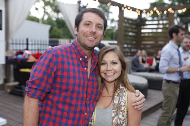 Jeff Marin and Meghan Miller at Friends of DePelchin's Fiesta May 2014