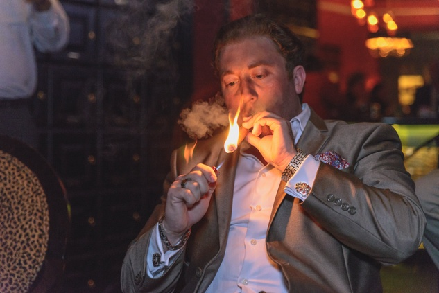 News, Shelby, Hublot party, The Marquis, May 2015 cigar sommelier Jonathan Fiant