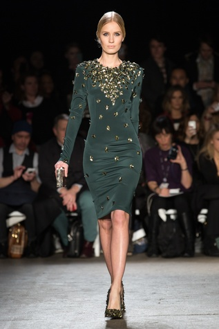 Christian Siriano fall collection look 25