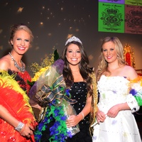 Elle Moody, from left, Kimmy Matthews and Anne Elizabeth Scruggs at the Knights of Momus Coronation Ball February 2014