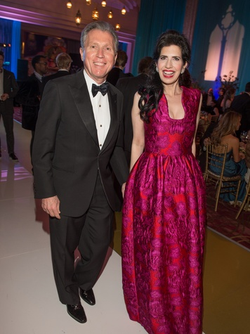Martin Fein and Dr. Kelli Cohen Fein at the Houston Ballet Ball February 2014