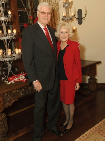 Tom & Phyllis McCasland, vday at the arboretum
