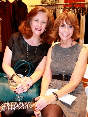 11 Jana Laird Phillips, left, and Christine Smith at the Recipe for Success' Dress for Dinner
