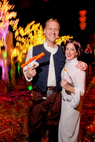 30 William and Melissa Allen at the Ronald McDonald House Houston Boo Ball October 2014