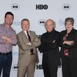 Ron Corning, Ken Morris, Timothy Greenfield-Sanders, Mitzi Lemons, Black Tie Dinner, HBO