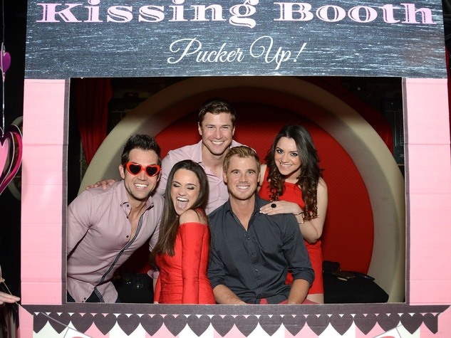 20 193 Zak Waddell, from left, Dina Baassiri, Drew Kenney, Ben Scott and Halla Baassiri at the American Heart Association Bachelor Party February 2014