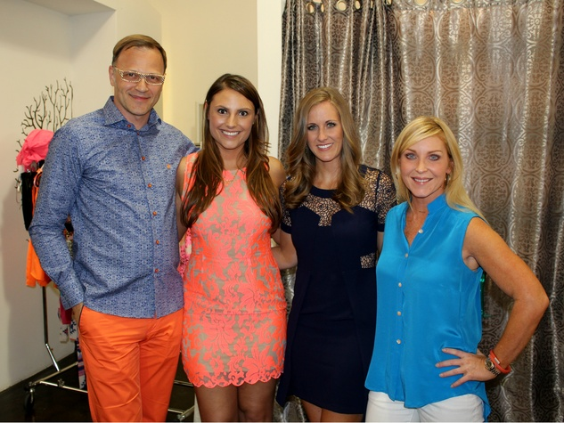 Edo Popken, Chelsea Brogdon, Caitlyn Mullanix, and Staci Alexander, chantilly shopping event