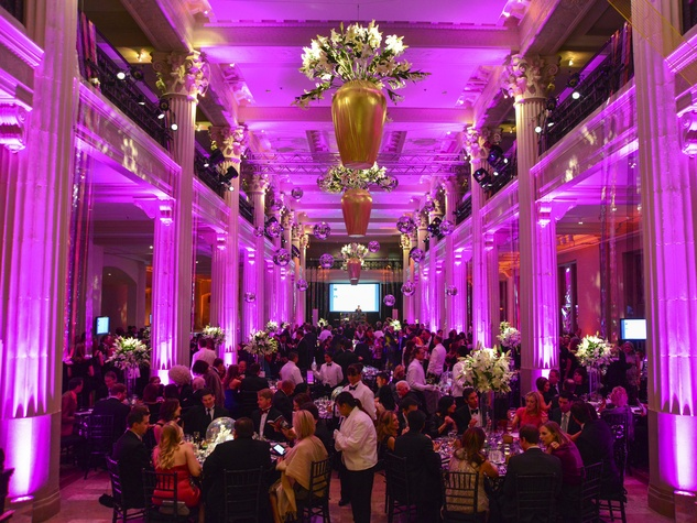 17 crowd, venue at The Corinthian at the Children's Museum Gala October 2013