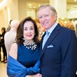 Betty and Jesse Tutor at the Houston Symphony Retrospective Exhibit event March 2014