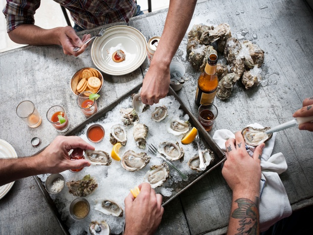 Punk's Simple Southern Food oysters March 2014