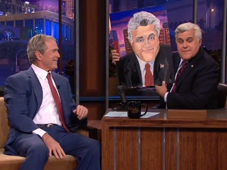 George W. Bush on The Tonight Show with Jay Leno