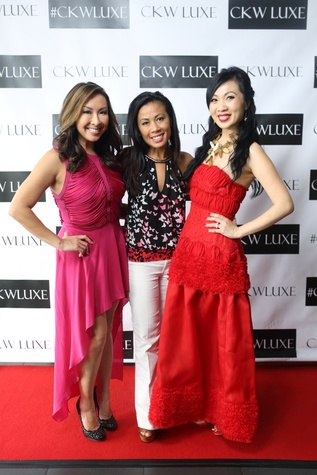 Houston, CKW Luxe Magazine Launch, May 2015, Lily Jang, Chau Nguyen, Connie Kwan-Wong