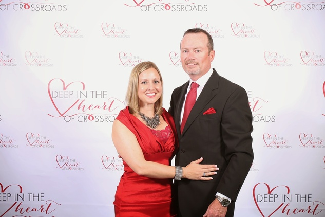 Heather and Steven Newstead at the Crossroads Gala June 2014