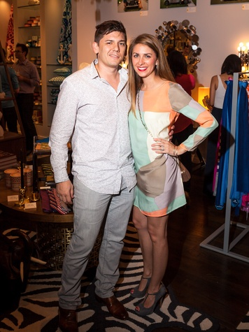Jonathan Adler Houston April 2013 Adam Branscum, Brittany Branscum