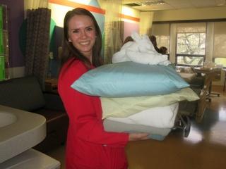 Eliana Gill at Texas Scottish Rite Hospital for Children