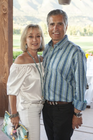 Cathy and Giorgio Borlenghi Houston Methodist in Aspen July 2014