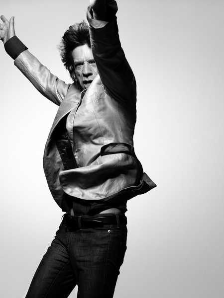 Sir Mick Jagger by Bryan Adams
