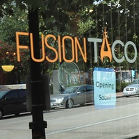 Fusion Taco Houston July 2013 entrance