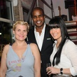 11 Liz Gorman, from left, Alton LaDay and Tiffany Halik at Diverseworks' Fashion Fete