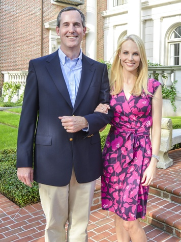 4 DePelchin Children's Center Gala kickoff James Jennings and Kathleen Jennings
