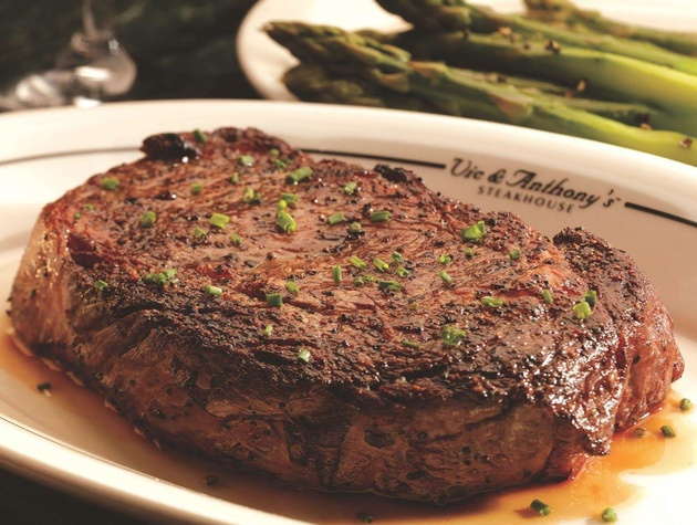 Steak At Vic Anthony S Steakhouse