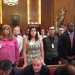 Equality Rights Ordinance backers at City Hall May 14, 2014