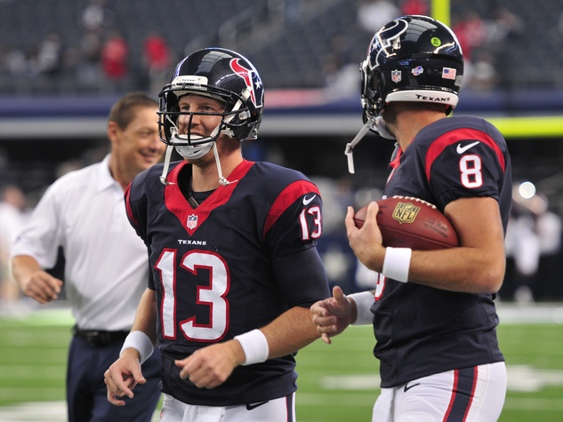 T.J. Yates Texans Cowboys