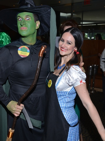 11S Chad Pitt and Lauren Finkelstein at the Emerald City ESCAPE Celebrity Serve Benefit April 2014