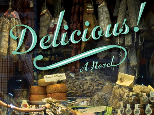 Marene Ruth Reichl Delicious! book cover
