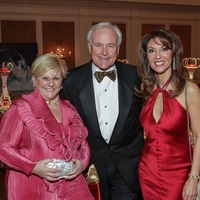 10 Paula Sutton, from left, Bill King and Neda Ladjevardian at the Gaston LeNotre Scholarship Gala February 2015