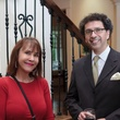 Pam Boring and Enrique Carreón-Robledo at the Opera in the Heights reception April 2014
