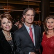 5 7575 Dr. Gail Gross, from left, with Gary and Cathy Broc at the UT Health Gala November 2014