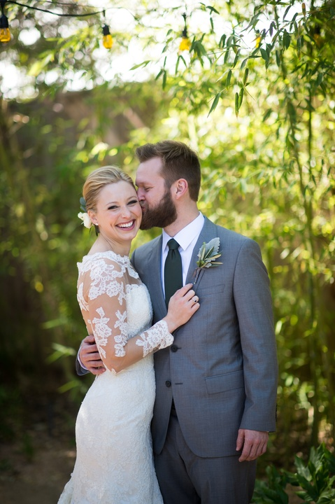 Katie Van Dyk Ben Nelson real wedding-couple