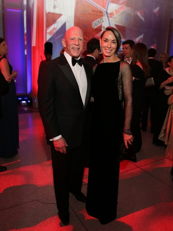 Lester and Sue Smith at the Museum of Natural Science Gala March 2014.