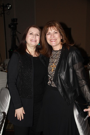 5 Sylvia Forsythe, left, and Ellie Francisco at the Rodeo Trailblazer Awards Luncheon February 2015