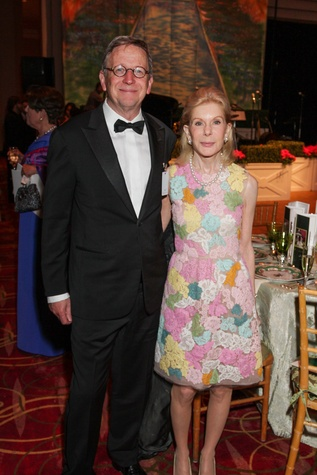 Jerry Fischer, Frances Marzio, Moores School gala, March 2014