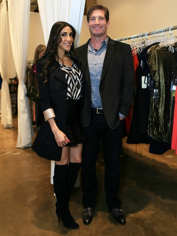 paola facusse, brent owens, front door fashion party