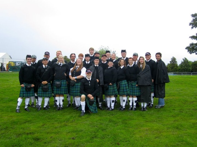 Silver Thistle Pipes and Drums Irish band from Austin