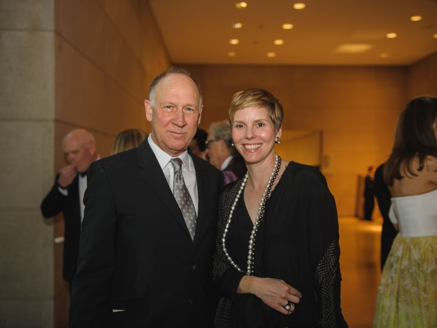 Barry Whistler, Allison V. Smith at Art Ball 2014
