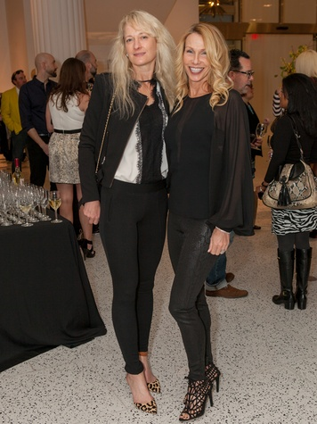 20. Naomi Barker, left, and Melissa Montana at the Little Black Dress designer kick-off party and fashion show March 2014