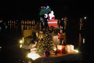 30th Annual Lighting of the Doves and Sixth Annual International Water On The Waterway
