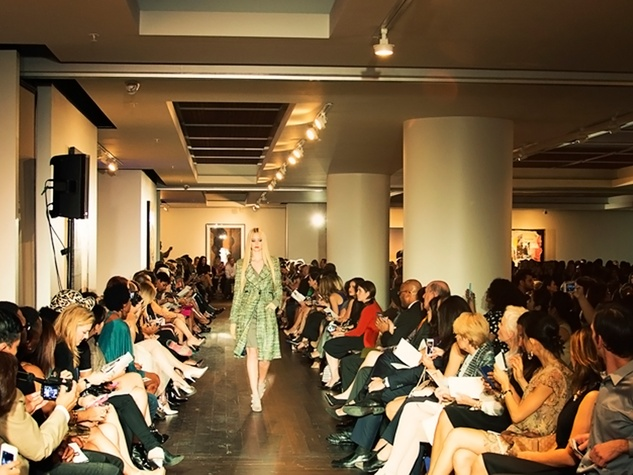 4 David Peck fashion show October 2014 venue
