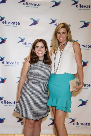 Houston, Ellevate event at Tootsies, August 2015, Mathilde Leary, Liz Crosswell