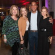 Barbara Buzzell, Joyce Goss, Robert Weatherly and Lynn McBee, museum tower partners card party
