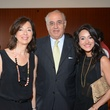 15 Lily and Hamid Kooros, from left, with Maryam Afshari at the HFAF Launch at the Asia Society June 2014