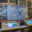 Interactive exhibit at George W. Bush Presidential Center in Dallas